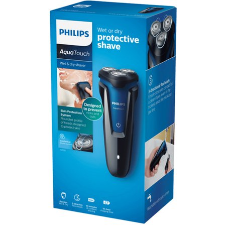 Barbeador Philips Aqua Touch, a prova dagua - S1030
