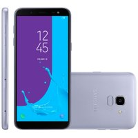 Smartphone Samsung Galaxy J6, TV, Dual Chip, 32GB, 13MP, 4G, Prata - J600GT
