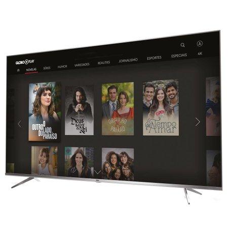 Ultra HD TV LED .65 TCL, 4K, 3 HDMI e 2 USB, Wi-Fi - 65P6US