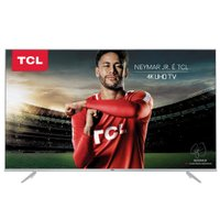 Ultra HD TV LED 50 TCL, 4K, 3 HDMI e 2 USB, Wi-Fi - 50P6US