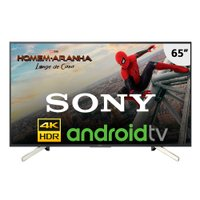 Smart TV Ultra HD LED 65'' Sony, 4K, 4 HDMI, 3 USB, com Wi-Fi - KD-65X755F