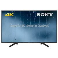 Smart TV Ultra HD LED 49'' Sony, 4K, 3 HDMI, 3 USB, com Wi-Fi – KD-49X705F