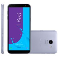 Smartphone Samsung Galaxy J6, TV, Dual, 64GB, 13MP, 4G, Prata - J600GT