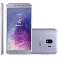 Smartphone Samsung Galaxy J4, Dual, 32GB, 13MP, 4G, Prata - J400M