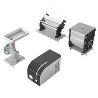 Maquina de Massa Anodilar Stang com Cilindro, Extrusor, Misturadeira e Moedor