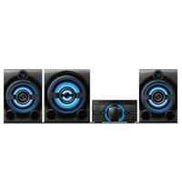 Mini System Sony, 1600W RMS, Bluetooth, Karaoke, com Controle Remoto - MHC-M80D
