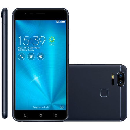 Smartphone Asus ZenFone Zoom S, 64GB, Dual Chip, 4G, Preto - ZE553KL