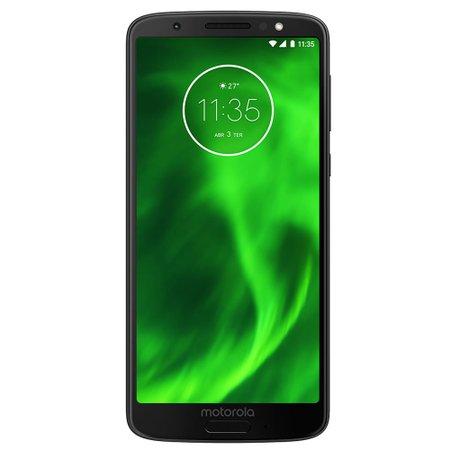 Smartphone Motorola Moto G6, 64GB, Dual Chip, 4G, Preto - XT1925