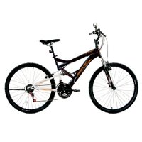 Bicicleta Houston Stinger, Aro 26, 21 Marchas, Frios V-Brake, Quadro Aco Carbono