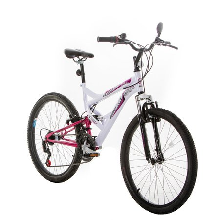 Bicicleta Houston Vivid, Aro 26, 21 Marchas, V-Brake, Quadro Aco Carbono - VV26P