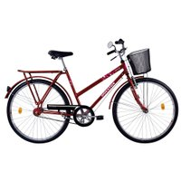 Bicicleta Houston Onix VB, Aro 26, V-Brake, Quadro Aco Carbono - ON26V1M