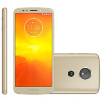 Smartphone Motorola Moto E5, 32GB, Dual Chip, 13MP, 4G, Ouro - XT1944