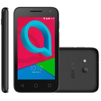 Smartphone Alcatel Pixi 4'', 8GB, 8MP, Dual Chip, 3G, Preto - 4034E