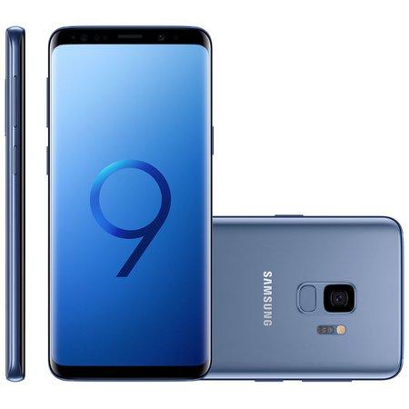 Smartphone Samsung Galaxy S9, Dual Chip, 128GB, 12MP, 4G, Azul - G9600