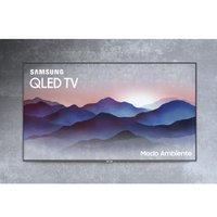 TV QLED 75 Samsung, 4K, 4 HDMI, 3 USB, com Wi-Fi - QN75Q7FN