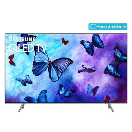 Smart TV QLED 65'' Samsung, Modo Ambiente, 4K, 4 HDMI, 3 USB, Wi-Fi - QN65Q6F