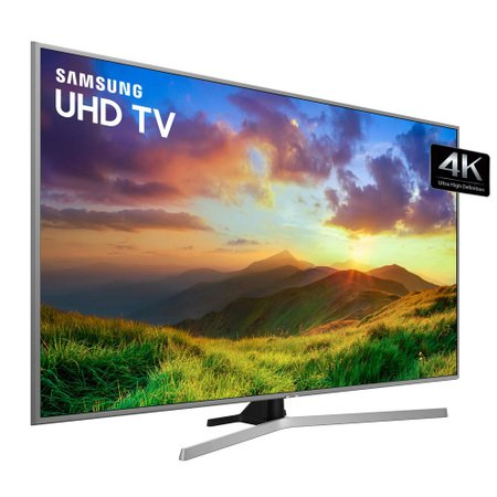 Ultra HD TV LED 50 Samsung, 4K, 3 HDMI e 2 USB, Wi-Fi - UN50NU7400