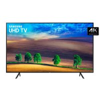 Ultra HD TV LED 55 Samsung, 4K, 3 HDMI e 2 USB, Wi-Fi - UN55NU7100