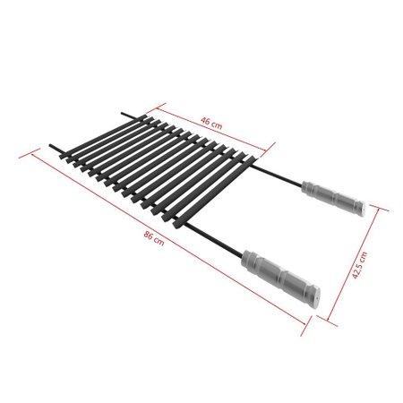 Grelha Qualinox Steel Flon Plana - 50103