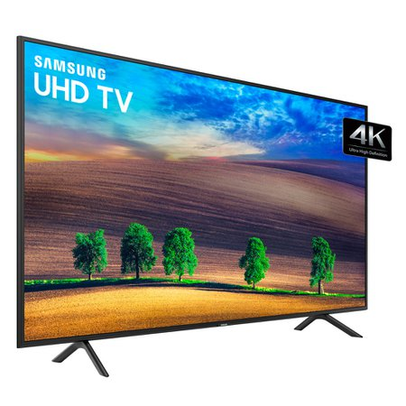 Ultra HD TV LED 75 Samsung, 4K, 3 HDMI e 2 USB, Wi-Fi - UN75NU7100