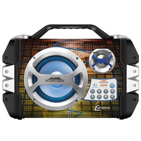 Caixa Amplificada Lenoxx, 100W RMS, USB, Cartao SD, Bluetooth - CA325