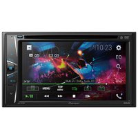 DVD Automotivo Pioneer 2DIN 6.2'', Bluetooth, Entrada USB - AVH-G218BT