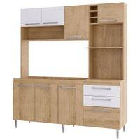 Cozinha Compacta Gralar Blume, 8 Portas, 2 Gavetas - 173