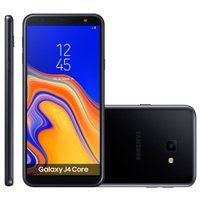 Smartphone Samsung Galaxy J4 Core, 16GB, Dual Chip, 8MP, 4G, Preto - SM-J410G