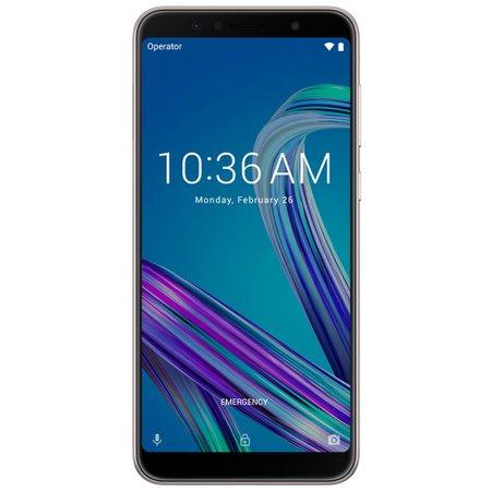Smartphone Asus ZenFone Max Pro M1, 32GB, 4G, 13MP + 5MP, Prata - ZB602KL