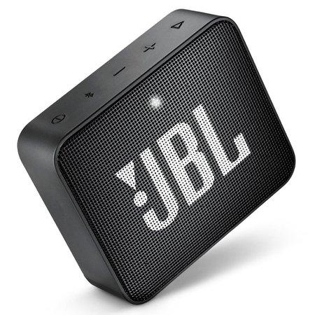 Caixa de Som Portátil JBL GO 2, Bluetooth, 3W RMS, Preta