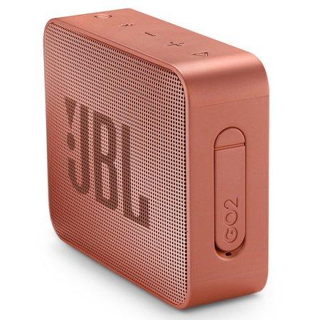 Caixa de Som Portátil JBL GO 2, Bluetooth, 3W RMS, Cinnamon