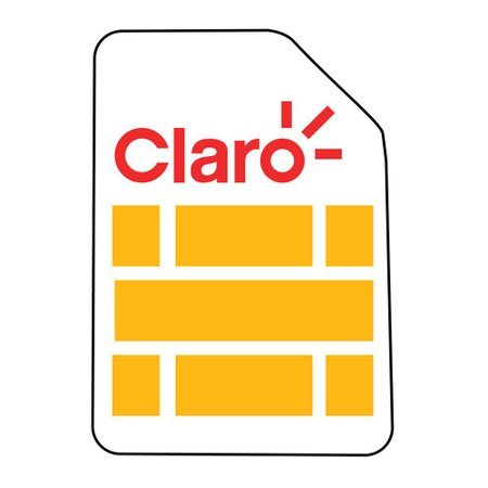 Chip Claro 4G Triplo Corte com Recarga