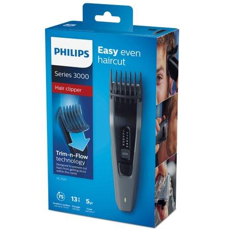 Maquina de Cortar Cabelo Philips Hairclipper, Laminas em Aco - HC3520/15
