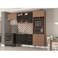 Cozinha Compacta Multimoveis Florence, 8 Portas, 3 Gavetas - 2782