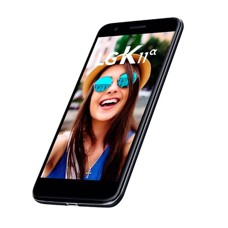Smartphone LG K11 Alpha, Dual Chip, 16GB + Micro SD 16GB, Preto - LMX410