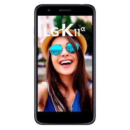 Smartphone LG K11 Alpha, Dual Chip, 16GB + Micro SD 16GB, Dourado - LMX410