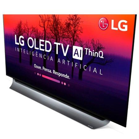Smart TV OLED 65'' LG, Ultra HD, 4K, 4 HDMI, 3 USB, Wi-Fi - OLED65C8PSA