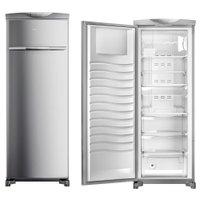 Freezer Vertical 228 Litros Brastemp, 1 Porta, Inox - BVR28MK