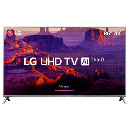 Smart TV Ultra HD LED 86'' LG, 4K, 4 HDMI, 2 USB, Wi-Fi - 86UK6520PSA
