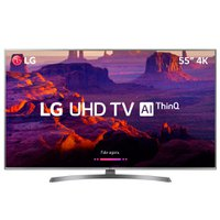 Smart TV Ultra HD LED 55'' LG, 4K, 4 HDMI, 2 USB, Wi-Fi - 55UK6540PSB