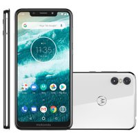 Smartphone Motorola One, 64GB, Dual Chip, 4G, Branco - XT1941