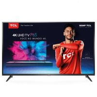 Smart TV Ultra HD LED 50 TCL, 4K, 3 HDMI, 2 USB, com Wi-Fi - 50P65US
