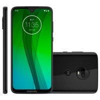 Smartphone Motorola Moto G7, 64GB, Câmera Dupla 12MP + 5MP, 4G, Ônix - XT1962-4
