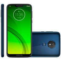 Smartphone Motorola Moto G7 Power, 32GB, 12MP, 4G, Dual Chip, Azul Navy - XT1955