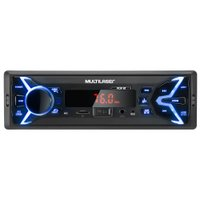 Som Automotivo Multilaser Pop BT, Entrada USB, Bluetooth - P3336