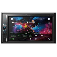 Central Multimídia Pioneer 2DIN 6.2'', Bluetooth, Entrada USB - MVH-G218BT