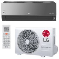 Ar-Condicionado Split LG Dual Inverter Artcool, Q/F, 12.000 BTUS - S4-W12JARPA