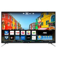 Smart TV LED Ultra HD 50'' AOC, 4K, 4 HDMI, 2 USB, com Wi-Fi - LE50U7970S