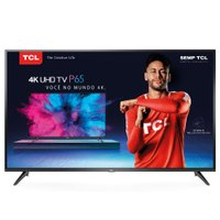 Smart TV Ultra HD LED 65'' TCL, 4K, 3 HDMI, 2 USB, com Wi-Fi - 65P65US