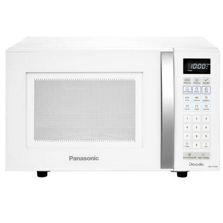 Micro-ondas Panasonic 21 Litros, 10 Níveis de Potência, Branco - ST25JW